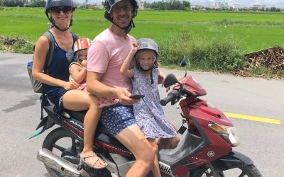 Flowing in Vietnam – but not the yoga kind!
